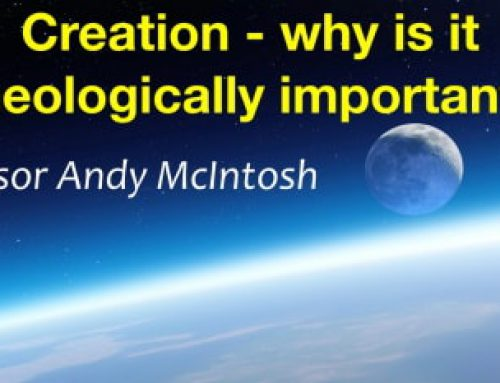 Creation Lectures with Prof. Andy McIntosh 24th July